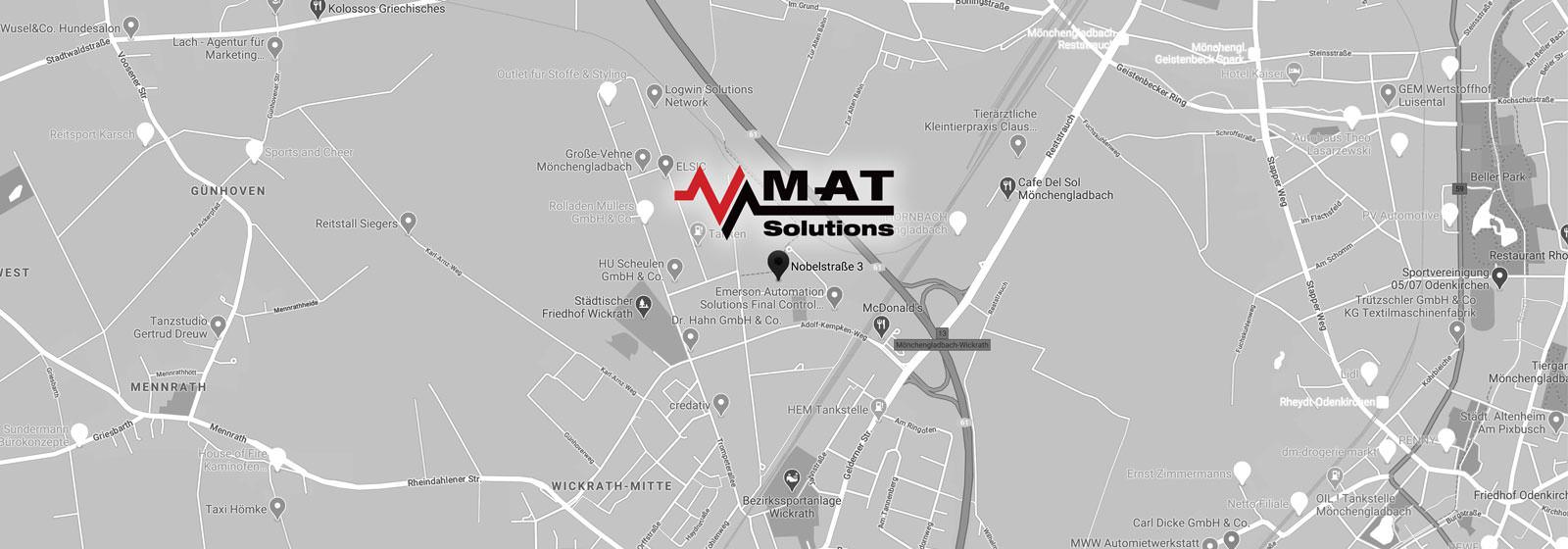 MAT Solutions GmbH - Nobelstrasse 3-5 - 41189 Mönchengladbach Deutschland